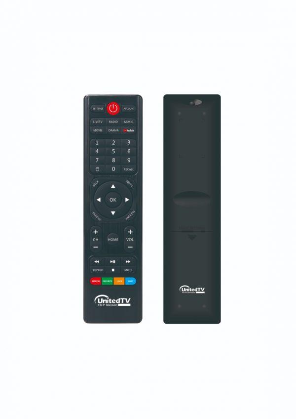 unitedtv tv box remote control